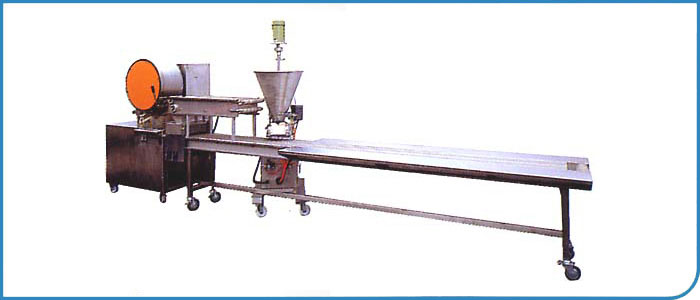 Semi-Auto Spring Roll Making Machine